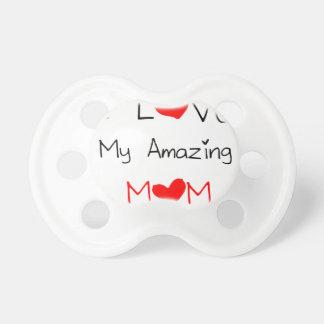 Chupeta Eu amo minha mamã surpreendente