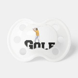Chupeta Eu amo o golfe 01