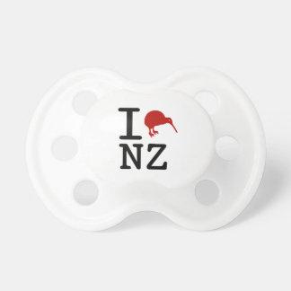 Chupeta Eu amo o Pacifier do quivi de Nova Zelândia