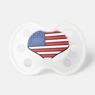 Chupeta Eu amo orgulho de América - os Estados Unidos da