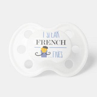 Chupeta Eu falo o francês… Fritadas