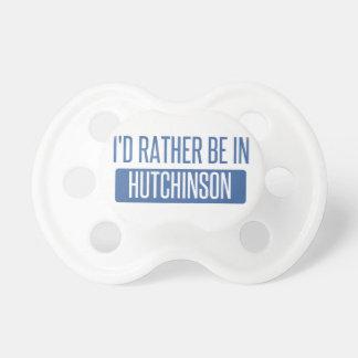 Chupeta Eu preferencialmente estaria em Hutchinson