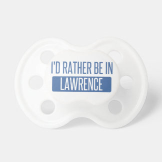 Chupeta Eu preferencialmente estaria em Lawrence KS