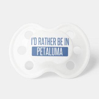 Chupeta Eu preferencialmente estaria em Petaluma