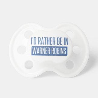 Chupeta Eu preferencialmente estaria em robins de Warner