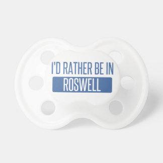 Chupeta Eu preferencialmente estaria em Roswell GA