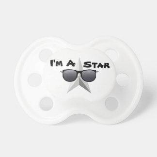 Chupeta Eu sou uma estrela, Pacifier