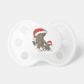 Chupeta Família de Bigfoot do Natal