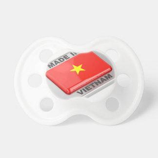 Chupeta Feito no crachá brilhante de Vietnam