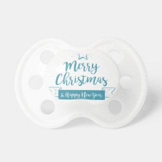 Chupeta Feliz Natal & elegante simples do feliz ano novo