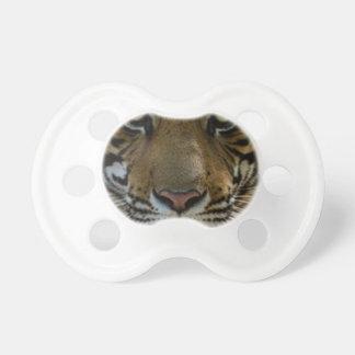Chupeta Fim da cara do tigre acima