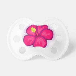 Chupeta Flor cor-de-rosa de Havaí