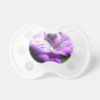 Chupeta Flora roxa