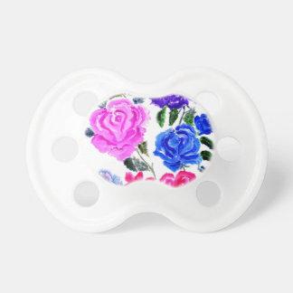 Chupeta Flores coloridas Art7