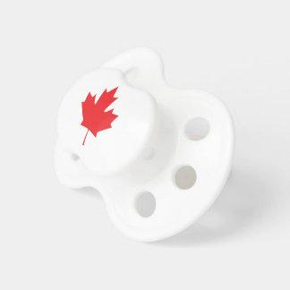 Chupeta Folha de bordo canadense
