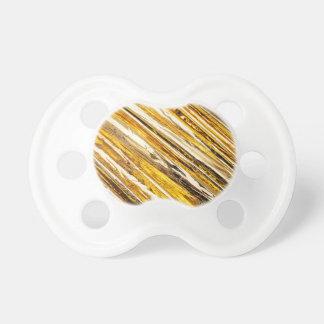 Chupeta Folha de ouro cintilante de Falln