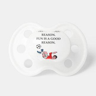Chupeta futebol