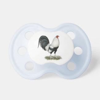 Chupeta Gamecock de prata de Duckwing