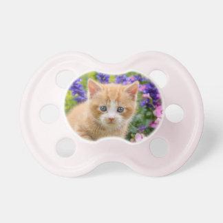 Chupeta Gatinho macio bonito do gato do bebê do gengibre