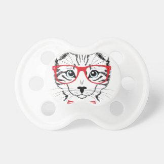 Chupeta gato com vidros