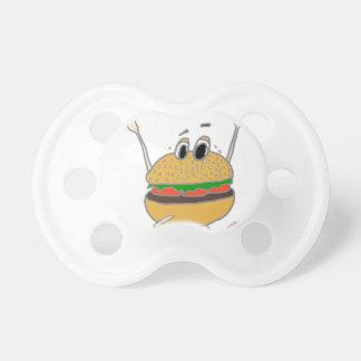 Chupeta hamburguer running