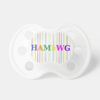 Chupeta HAMbyWG - Pacifier - cores preliminares
