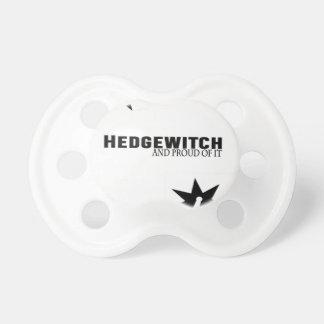 Chupeta Hedgewitch e orgulhoso dele