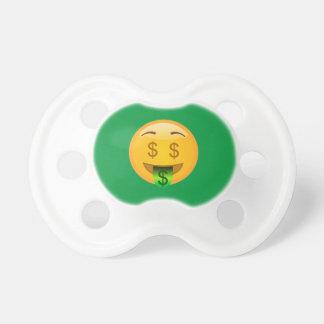 Chupeta Homem do dinheiro de Emoji