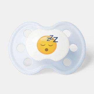 Chupeta Horas de dormir cansados Emoji
