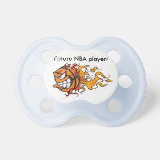 Chupeta Jogador futuro de NBA do Pacifier/do bebê
