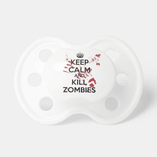 Chupeta Keep Calm and Kill Zombies