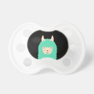 Chupeta Lama de Emoji do Peekaboo