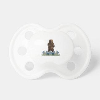 Chupeta Lançamento do urso