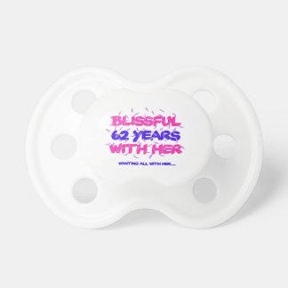 Chupeta Legal e tendendo o 62nd design do aniversário do