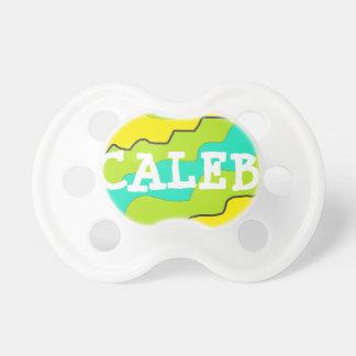 Chupeta Limão personalizado Breen & Pacifier do bebê azul