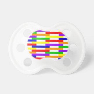 Chupeta linha design da Multi-cor