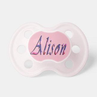 Chupeta Logotipo conhecido das meninas florais de Alison,
