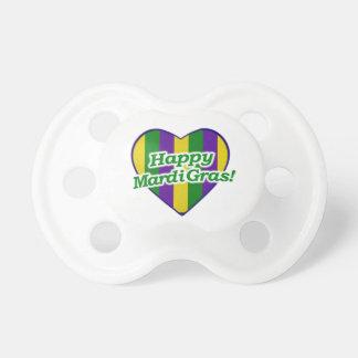 Chupeta Logotipo feliz do carnaval