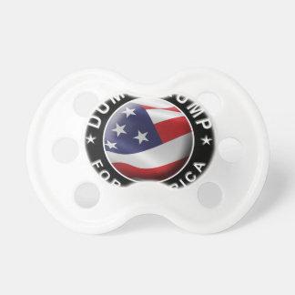 Chupeta Logotipo oficial de DumpTrumpforAmerica