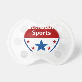 Chupeta Logotipo Southbound da crista dos esportes
