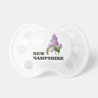 Chupeta mais New Hampshire