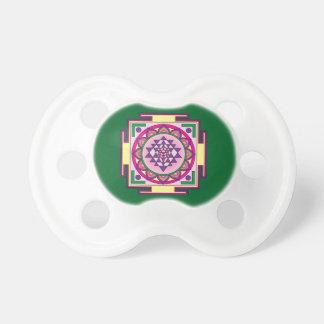 Chupeta Mandala de Sri Yantra