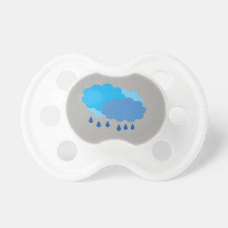 Chupeta Manequim da nuvem de chuva