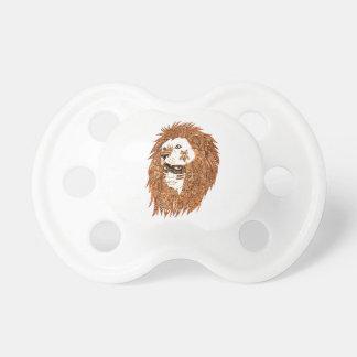 Chupeta Máscara do leão