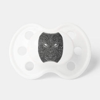 Chupeta Máscara maori Scratchboard