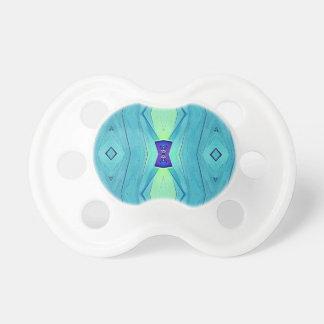 Chupeta Máscaras modernas vibrantes da hortelã do azul da