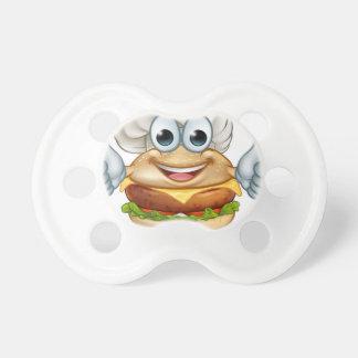 Chupeta Mascote do personagem de desenho animado da comida