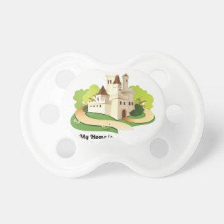 Chupeta minha casa meu castelo
