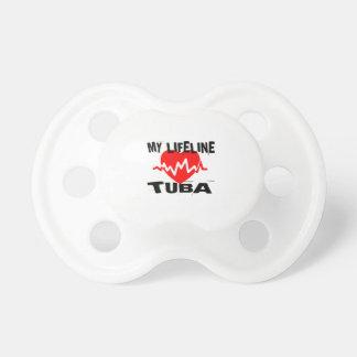 CHUPETA MINHA LINHA DE VIDA DESIGN DA MÚSICA DA TUBA