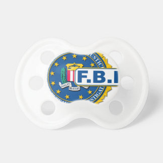 Chupeta Modelo do selo do FBI